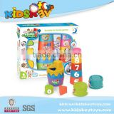 Multifunction Brain training educational toys plastic baby stacking cup