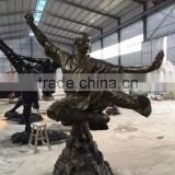 bronze brass sculpture statue sculpture bronze