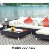 Outdoor sofa sets with rattan furniture waterproof cushion Wholesale Best in UGO Furniture Online Sale