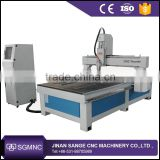 Jinan automatic woodworking wood carving machine , 9015 1325 1318 router cnc with air cooling spindle