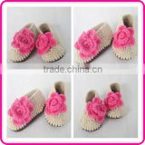 wholesale hand knitting baby shoes trendy crochet shoes for baby girl                                                                         Quality Choice