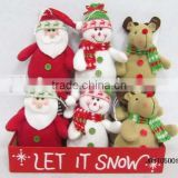 Hot Selling Christmas Decorate Plush toy ,The Christmas Special ,Wholesale From China Plush Toy