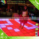 Light up video interactive led dance floor/3d led dance floor/led dance floor                                                                         Quality Choice
