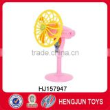 New promotional gift items toys plastic mini stand hand fan toys
