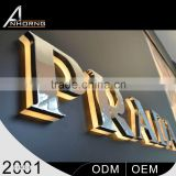 Customize Design Competive Price Laser Cutting Acrylic Channel Business Signs With Acrylic Surface                                                                         Quality Choice
