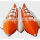 2016 hot sale inflatable water banana boat, inflatable banana boat, inflatable sail boat