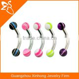 bead curved small eyebrow piercing navel rings india spiral eyebrow ring eyebrow piercing
