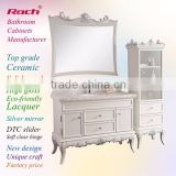 ROCH 8045 Well Sales Luxury Style Bathroom Cabinet,Plywood Cabinet,Marble Top Bathroom Cabinet