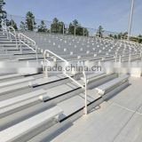 Elevated Aluminum Basketball Used Bleachers
