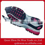 Latest Men Rubber Shoe Sole Company Design Unisex, Red And Black All The Color Soles As Request
