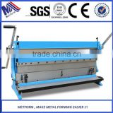 Hand Combination Shear Bend Slip Roll sheet metal steel plate manual precision shearing machine