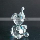 Years crystal elephant animal model for home decoration (R-0239)