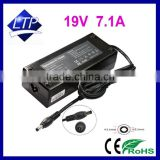 Brand new ac Adapter 19V 7.1A 5.5*2.5mm power supply for Acer 135W notebook/laptop charger
