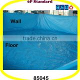 Easy for Maintenance Solid Blue Swimming Pool Lining