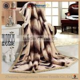 double ply china supplier super king size mink blanket