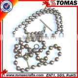Guangzhou custom cheap brass ball chains