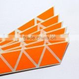 Rolls Book marks orange Fluorescent Self Adhesive label Paper