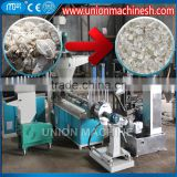 Automatic PE Film Pelletizing Line Plastic Recycling Extruder Water Ring Cutting Granulator Machine with Crusher