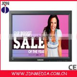 wholesale!china factory ex-factory price 17inch Lcd Advertising media display /DIGITAL SIGNAGE PLAYERS/digital menu boards