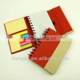 Recycled Good Quality of Sprial notebook With Pen and Magnetic Cover