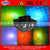 150mW Romantic Star Burst: 3W RGB LED & RGY Laser Show System disco , club