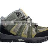 2014 new style waterproof hiking boots/ high cut climbing shoes men