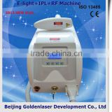 Vertical 2013 Laser Tattoo Removal Slimming Machine Redness Removal Cavitation E-light+IPL+RF Machine Light Therapy Photo Rejuvenation