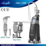 Body Reshape Cryolipolysis Machine With Two Handpieces Skin Lifting For Body And Face Slim