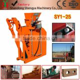 Inquiry about Having branch office in Nairobi Kenya hydroform clay interlocking block shaping machine for build house soil solid block machine