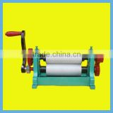 Factory Price Best Selling beeswax foundation manual coining mill machine