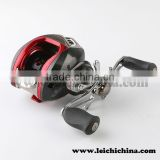 Excellent brake system magnetic & centrifugal dual cast control baitcasting fishing reel