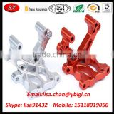 Customized CNC Alloy Front Bulkhead Racing Parts