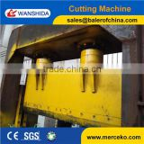 Q43A-1600A PET plastic guillotine shear machine to shear plastic belt with high efficiency