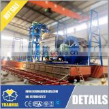 Dredging machines of bucket wheel suction dredger