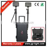 led industrial light 72w rechargeable led area light with telescopic pole