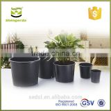 small garden pots, pp nursery pots, 1 gallon pots for sale