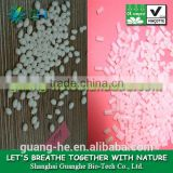 Biodegradable recycled plastic material PLA pellets (polylactide) for injection molding GH401
