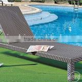 professional outdoor furniture distributor factory PE rattan outdoor beach chair lounge