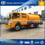 CLW brand professional tank equipment for transporting liquid asphalt DF 4x2 3cbm 4cbm bitumen transport tank truck with sprayer