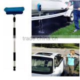 "Car Wash Brush Truck 60"" Telescoping Handle Cleaning Flow-Thru Vehicle Washing"