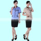 high quality customized Uniforms cleaner,Housekeeping,waitress,work clothes