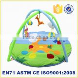 New funny education musical baby floor mat baby gym mat