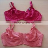js-904 pink & red color no pad bra in stock