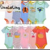 2015 tinaluling Unisex-Baby Variety bodysuits Brand baby animal rompers infant bodysuits