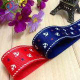 Hot sale promotional pretty printed grosgrain ribbon wholesale