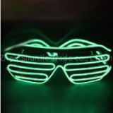Hot Sale Flashing EL Wire LED Glasses Light Up Party Glasses LED Slotted Shades Lighting Colorful Party Decoration Supplies For Dance DJ, Party Mask, Outdoor Sports