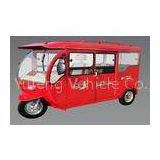 Full Closed Eco Friendly Electric Auto Rickshaw / Tricycle For Passenger