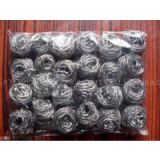 stainless steel scourer  galvanized wire cleaning ball