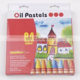 Kids Pastel Non-Toxic Crayon Oil Pastel 24 Assorted Colors Oil Pastel