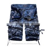 Hot-selling camouflage sublimation print bermuda Cargo Shorts